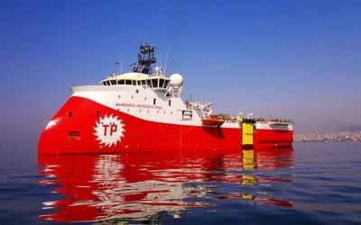 Συνεχίζει τις προκλήσεις η Τουρκία - Νέα παράνομη NAVTEX, στέλνει το Barbaros εντός της κυπριακής ΑΟΖ - Η αντίδραση της Κομισιόν
