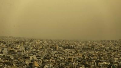 Καιρός: Αφρικανική σκόνη και λασποβροχές την Δευτέρα 19/4