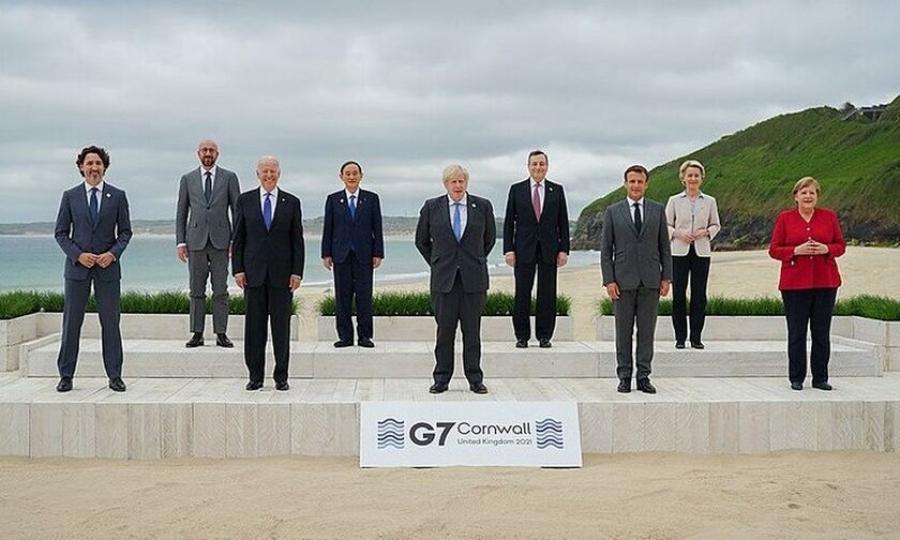 Eμβόλια, Κίνα, εταιρικός φόρος τα σημεία σύγκλισης των ηγετών της G7 -  Ενιαίο μέτωπο έναντι Ρωσίας, Κίνας