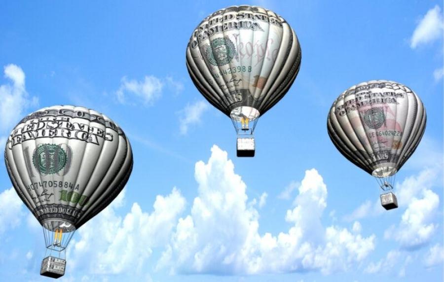 Ο δημοσιονομικός και νομισματικός παραλογισμός θα πλήξει μετοχές και ομόλογα – Οι φούσκες θα σκάσουν, 6 τρισ ο αέρας