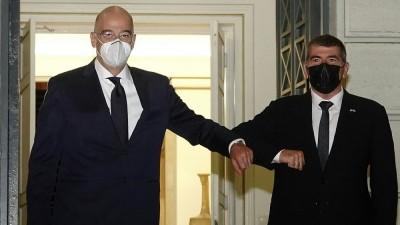 Συνάντηση Δένδια με τον Ισραηλινό υπουργό Εξωτερικών Ashkenazi