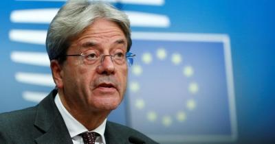 Gentiloni (Κομισιόν): Η ΕΕ θα αντλήσει 100 δισ. ευρώ από τις αγορές «στο τέλος της άνοιξης»