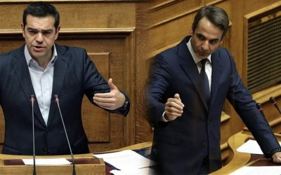 Βουλή: Με 158 ψήφους καταψηφίστηκε η πρόταση μομφής κατά του Σταϊκούρα – Σφοδρή σύγκρουση Μητσοτάκη με Τσίπρα για οικονομία και ελληνοτουρκικά