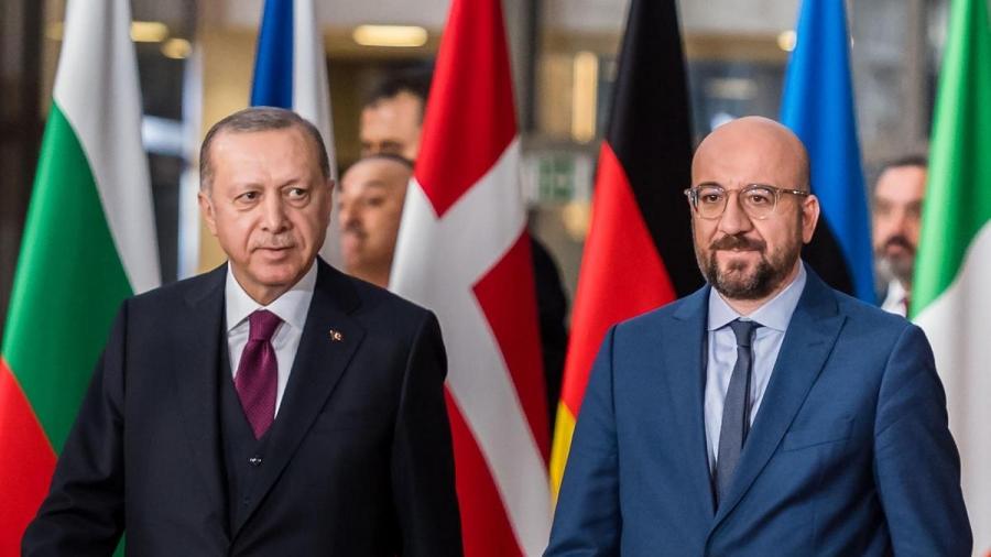 Ο Erdogan προσπαθεί να προσεγγίσει την ΕΕ μέσω των διερευνητικών συνομιλιών με την Ελλάδα