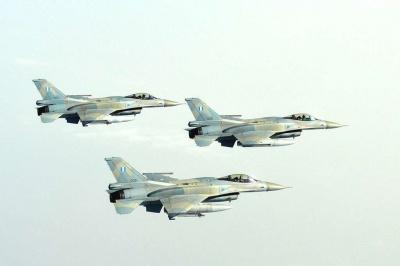 Ελληνικά F-16 συμμετείχαν στην επέτειο των 70 χρόνων του Ισραήλ (video)