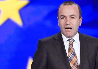 Ανήσυχος ο Weber για τις τουρκικές γεωτρήσεις στην κυπριακή ΑΟΖ - Εκφράζει τη στήριξή του στον λαό της Κύπρου