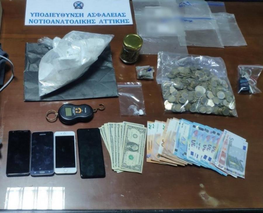 Γλυφάδα: Πέταξε 1 κιλό κοκαΐνη από το... παράθυρο αυτοκινήτου για να μην τον πιάσει η ΕΛ.ΑΣ
