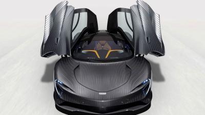 Πόσο χρειάστηκε για να βαφτεί μια McLaren Speedtail;
