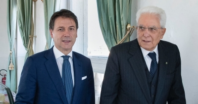Ιταλία: Συνάντηση Conte - Mattarella (ΠτΔ) με φόντο την κυβερνητική κρίση