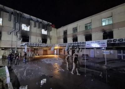 Ιράκ: Ο πρωθυπουργός έπαυσε από τα καθήκοντά του τον υπουργό Υγείας, μετά την τραγωδία