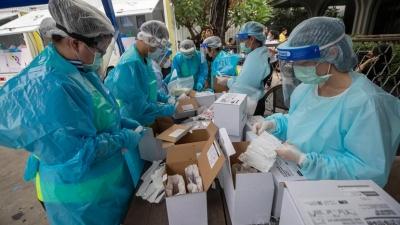 Σταματάνε τα τεστ για τον κορωνοϊό λόγω ελλείψεων στην Ταϊλάνδη