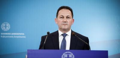 Πέτσας: Μέχρι το 2023 δεν θα υπάρχουν εισφορά αλληλεγγύης και τέλος επιτηδεύματος – Μείωση των πρωτογενών πλεονασμάτων από το 2021