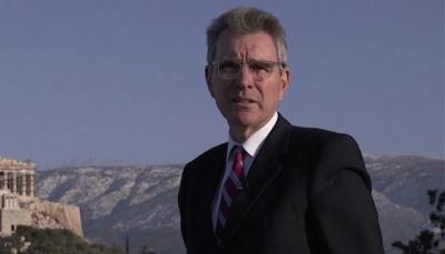 Pyatt (πρέσβης ΗΠΑ): Ελπίζουμε ότι οι δύο Έλληνες στρατιωτικοί θα επιστρέψουν σύντομα