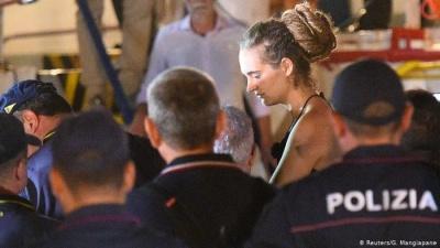 Κόντρα Ιταλίας - Γερμανίας για την πλοίαρχο Carola Rackete - Την απελευθέρωσή της ζητά το Βερολίνο