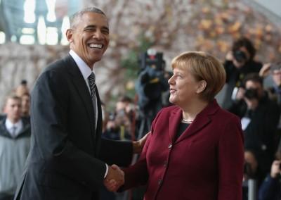 Ύμνοι Obama για Merkel: Είχαμε τις αντιπαραθέσεις μας, αλλά ήταν σταθερά συνεπής, έξυπνη, εστιασμένη