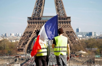 Γαλλία: Μειωμένη η συμμετοχή στο 20ο Σαββατοκύριακο διαδηλώσεων των «κίτρινων γιλέκων»
