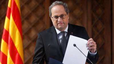 Ισπανία: Βαθαίνει η κρίση με την Καταλονία - Έκπτωτος ο Quim Torra