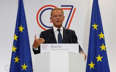 Tusk (ΕΕ): Προτιμώ να καλέσω την Ουκρανία στους G7 του 2020 παρά τη Ρωσία