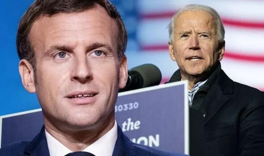 Τι συζήτησαν στην πρώτη τους τηλεφωνική επικοινωνία Biden – Macron