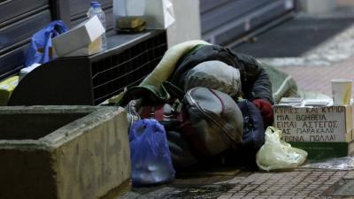 Θερμαινόμενοι χώροι σε Αττική και Θεσσαλονίκη για την προστασία των αστέγων