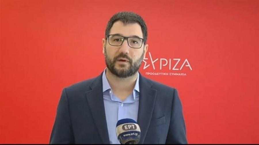 Ηλιόπουλος: Πολύ σημαντικό ότι το Συμβούλιο Ευρώπης υπερψήφισε την πρόταση Τσίπρα για τις πατέντες των εμβολίων