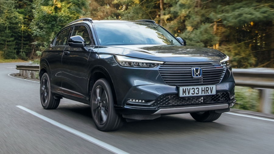 To νέο Honda HR-V εν κινήσει