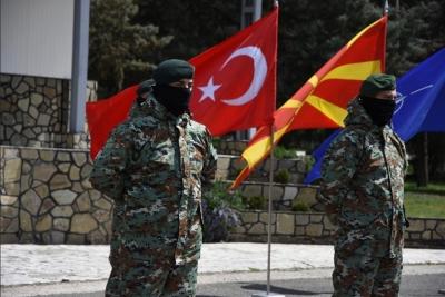 Υπογραφή πενταετούς συμφωνίας στρατιωτικής συνεργασίας Βόρειας Μακεδονίας - Τουρκίας