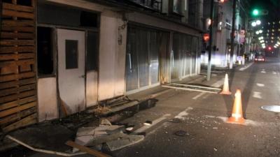 Σεισμός 7, 3 Ρίχτερ στην Ιαπωνία