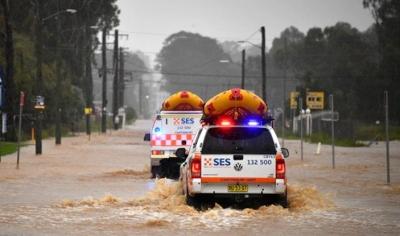 Σε κατάσταση έκτακτης ανάγκης το Σίδνει από τις βροχοπτώσεις - Υπερχείλισε φράγμα, εκκενώνονται περιοχές