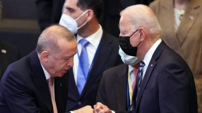 Ο Erdogan επιθυμεί... διακαώς συνάντηση με Biden - Επιδιώκει συμψηφισμό των χρημάτων που έχουν δοθεί για τα F-35
