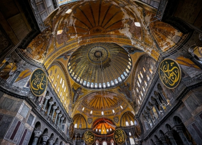 Dr Yilmaz (Τουρκία): Ο κόσμος να παραδειγματιστεί στο πως θα συντηρούμε την Αγία Σοφία - Εάν δεν είμασταν εμείς θα ήταν ερείπιο