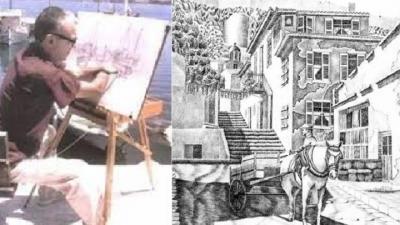 Πέθανε ο ζωγράφος Σοφοκλής Χρήστου - H συγκλονιστική ιστορία της ζωής του: Έχασε τα χέρια του και έφτιαχνε αριστουργήματα