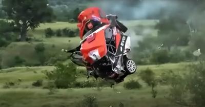 Σοκάρει ατύχημα σε αγώνα ράλι στην Βουλγαρία