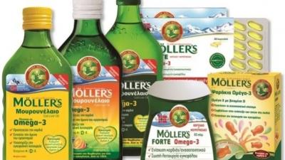 Moller's: Απαγορεύτηκαν από το δικαστήριο δύο διαφημίσεις για το μουρουνέλαιο και τα ζελεδάκια