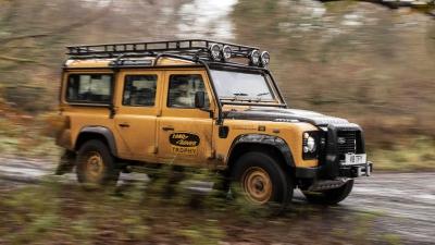 Ώρα για Camel Trophy με 25 σπέσιαλ Land Rover Works Trophy