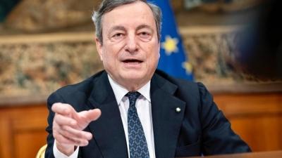 Ιταλία: Στα 40 δισ. ευρώ  ανεβαίνει το ύψος του νέου πακέτου μέτρων του Draghi