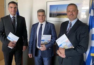 ΕΛΕΤΑΕΝ: Παρουσίαση της πρωτοβουλίας ask4wind στον πρόεδρο της ΡΑΕ