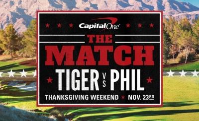 """The Match: Tiger vs Phil"" - Το μεγαλύτερο blockbuster στην ιστορία του γκολφ αποκλειστικά στα κανάλια Novasports!"