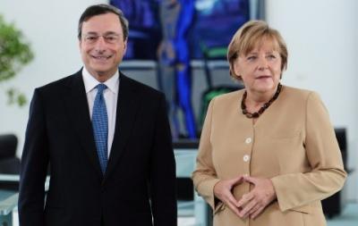 Συνάντηση Merkel - Draghi τη Δευτέρα (4/6) στον απόηχο της υποβάθμισης της Deutsche Bank