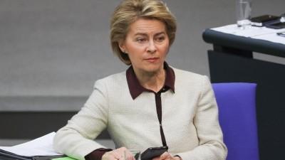 Von der Leyen: Η ΕΕ θα στηρίξει την ανάπτυξη παγκοσμίως μετά το τέλος της πανδημίας