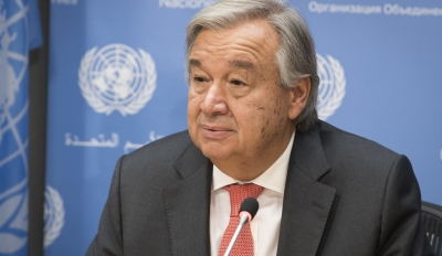 Guterres (ΟΗΕ): Bαθιά ταραγμένος για την καταστροφή με ισραηλινό πλήγμα στη Γάζα του κτιρίου με γραφεία διεθνών ΜΜΕ