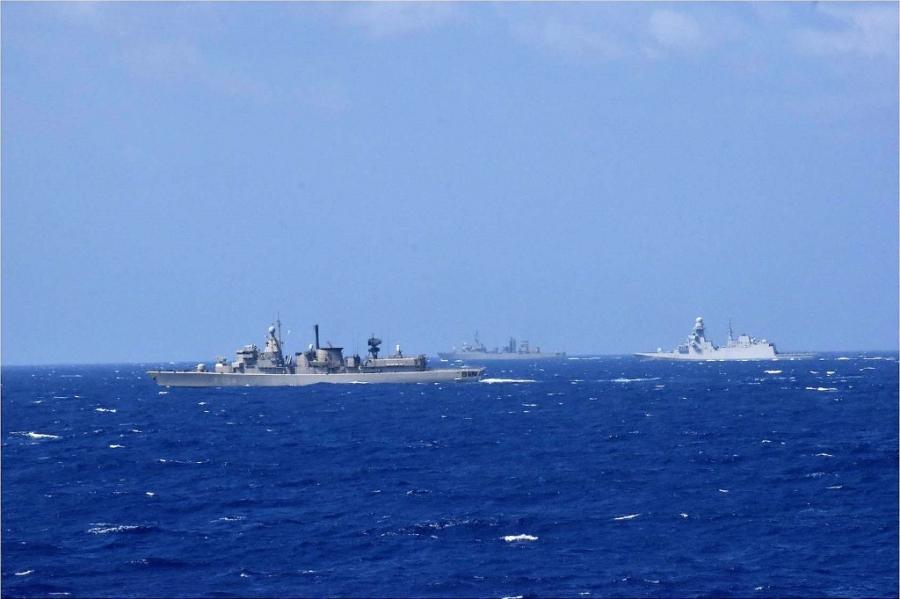 Ολοκληρώθηκε η πολυεθνική άσκηση του ΝΑΤΟ «Dynamic Guard 21-II» δυτικά της Κρήτης