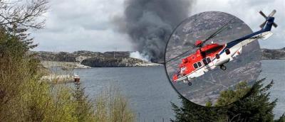 Νορβηγία: Νεκροί οι έξι επιβαίνοντες ελικοπτέρου που συνετρίβη - Έρευνα ξεκίνησαν οι Αρχές για τα αίτια του δυστυχήματος