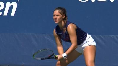 US Open: Έχασε ματς πόιντ και... πρόκριση η Λάκη
