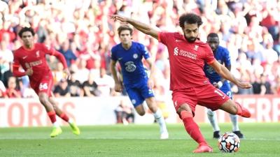 Λίβερπουλ – Τσέλσι 1-1: Ισοφάρισε με πέναλτι ο Σαλάχ, κόκκινη κάρτα ο Ρις Τζέιμς! (video)