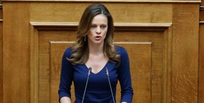 Αχτσιόγλου (ΣΥΡΙΖΑ): Αμετανόητος και αλαζονικός ο κ. Μητσοτάκης