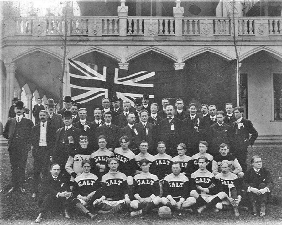 Olympic Stories, Γκαλτ: Η ποδοσφαιρική ομάδα «φάντασμα» του 1904
