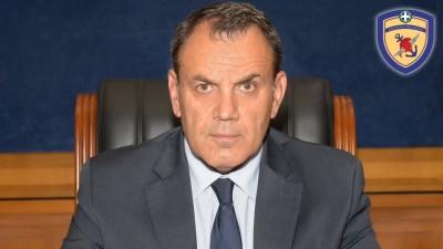 Παναγιωτόπουλος (ΥΠΕΘΑ): Ενημέρωσε τους Έλληνες ευρωβουλευτές του ΕΛΚ για τα εθνικά θέματα άμυνας και ασφάλειας