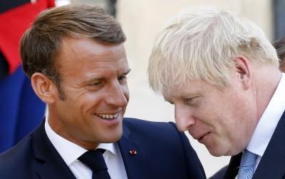 Μacron και Johnson συνομίλησαν για Brexit, μεταναστευτικό και Navalny