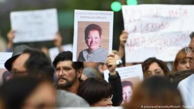 Μεξικό: Σύλληψη δημάρχου για συνέργεια στη δολοφονία της δημοσιογράφου Brich Miroslava